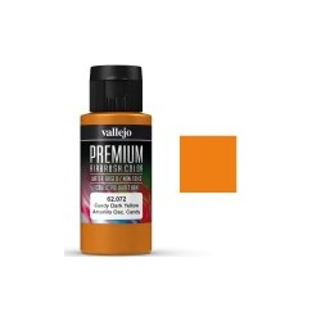 Premium Amarillo Oscuro Candy 60ml