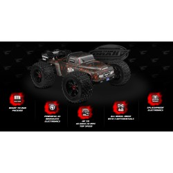 DEMENTOR XP 6S - 1/8 Monster Truck SWB RTR -...