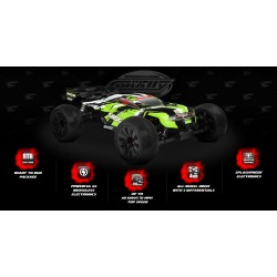 SHOGUN XP 6S - 1/8 Truggy LWB - RTR Brushless...