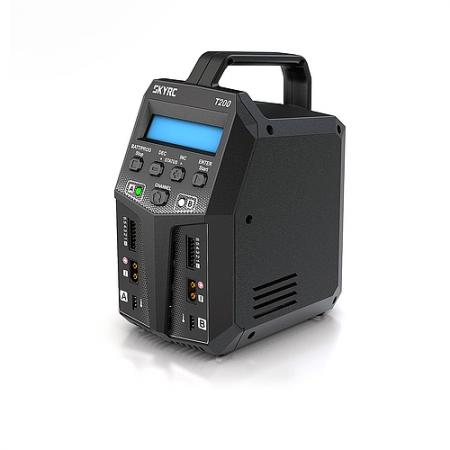 SkyRC T200 Dual 200W 12A AC/DC
