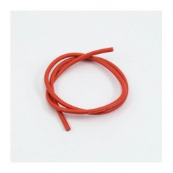 CABLE SILICONA ROJO 14AWG...